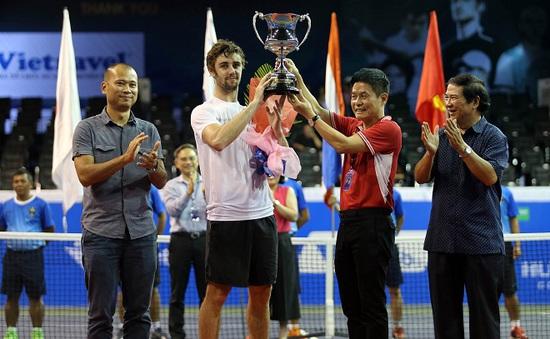 Giải quần vợt Vietnam Open 2016 khép lại với 2 trận chung kết kịch tính