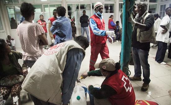 Nổ lựu đạn ở Madagascar, hơn 70 người thương vong