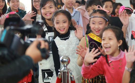 Thí sinh nhí Hà Nội háo hức dự vòng sơ tuyển Vietnam Idol Kids