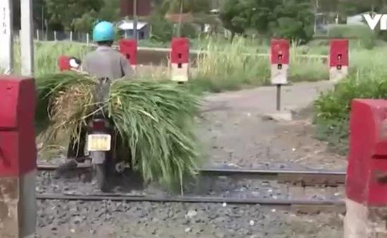 Nguy cơ mất an toàn giao thông đường sắt tại Phú Yên