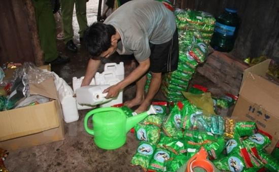 Xử phạt công ty ướp hóa chất vào trà tại Bình Dương 37 triệu đồng