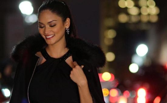 Tân Hoa hậu Hoàn vũ khoe vẻ đẹp sang trọng ở New York