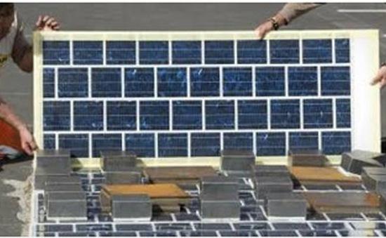 Pháp lên kế hoạch làm đường bộ phủ pin mặt trời