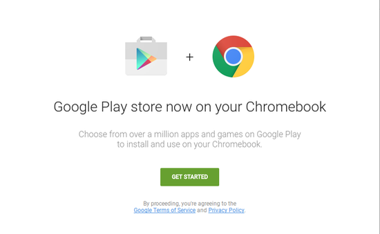 Kho ứng dụng của Google Play sẽ sớm có mặt trên nền tảng ChromeOS