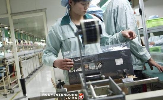 Chỉ số PMI tháng 7 của Trung Quốc giảm xuống dưới 50 điểm