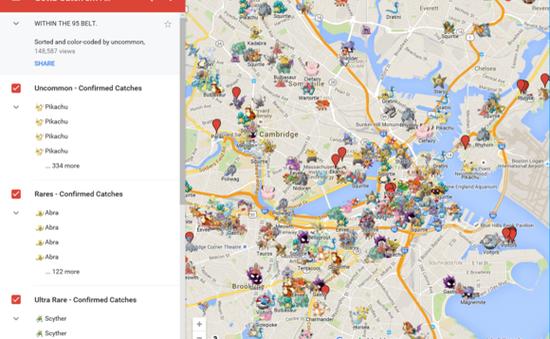 Người chơi Pokémon GO Việt bị cảnh báo phá hoại Google Map