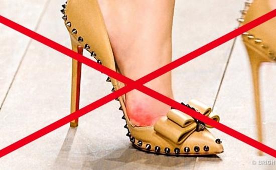 Mẹo hay giúp bạn không đau chân khi đi giày cao gót