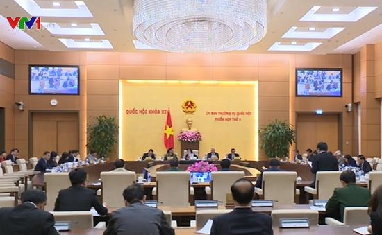 Ủy ban Thường vụ Quốc hội khai mạc phiên họp thứ 5