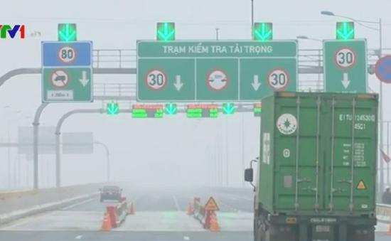 Đề xuất giảm phí xe tải nặng trên QL5 và cao tốc Hà Nội - Hải Phòng