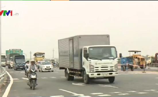 Cảnh báo nguy cơ mất ATGT trên QL1 Hà Nội - Bắc Ninh