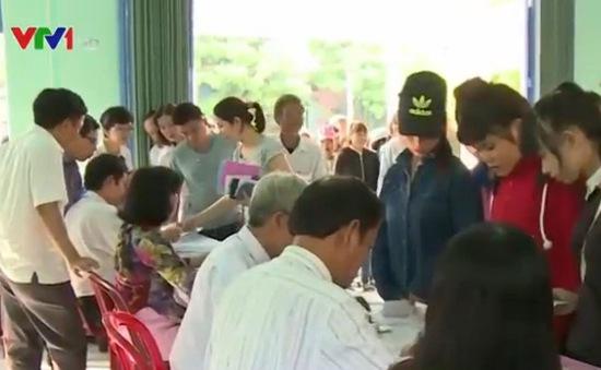Quảng Nam dẫn đầu tỷ lệ cử tri hoàn thành sớm việc bầu cử