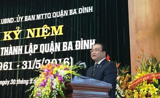 Kỷ niệm 55 năm ngày thành lập quận Ba Đình
