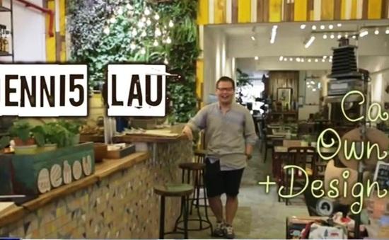 AEIOU - Quán cafe tái chế độc đáo ở Singapore