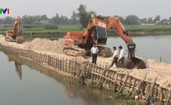 Quảng Nam nỗ lực chống xâm nhập mặn