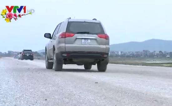 Quốc lộ 38 thông tuyến tạm thời phục vụ Tết Nguyên đán