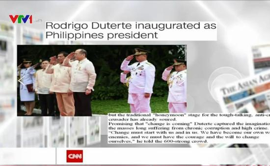 Philippines có tổng thống mới - Tâm điểm của báo chí quốc tế