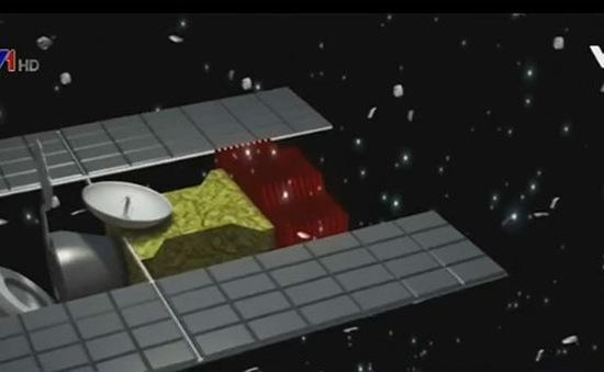 Sử dụng laser làm sạch rác không gian