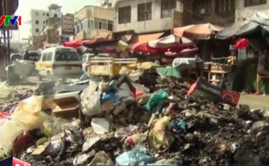 Bệnh lao phổi lan nhanh tại Yemen do rác thải
