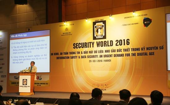 Security World 2016: Tầm quan trọng của an ninh bảo mật trong kỷ nguyên số
