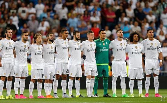Real Madrid đeo băng đen tưởng niệm 16 CĐV bị IS sát hại