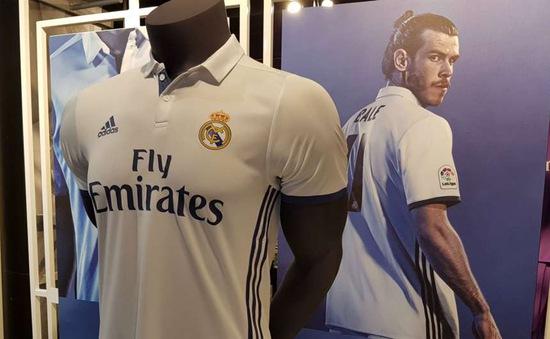 Real Madrid công bố áo đấu mùa giải mới cực đẹp
