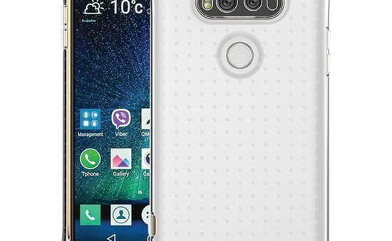 LG V20 lộ thiết kế: 2 màn hình, 4 camera, vỏ chống va đập