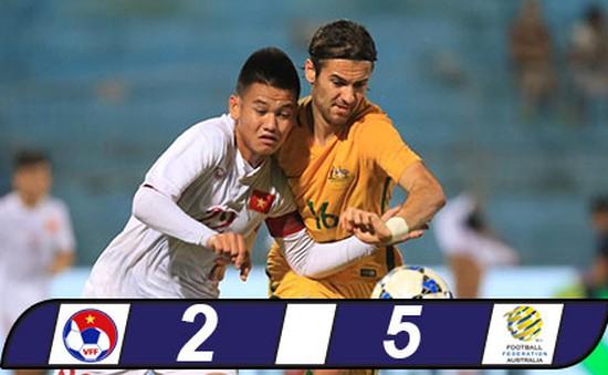 VIDEO, Xem lại trận đấu: U19 Việt Nam 2-5 U19 Australia
