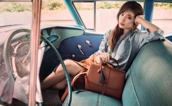 Suzy cực xinh trong sắc thu