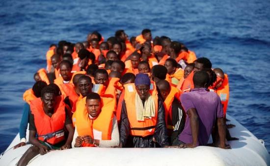 Cứu sống hơn 200 người di cư trên biển Địa Trung Hải
