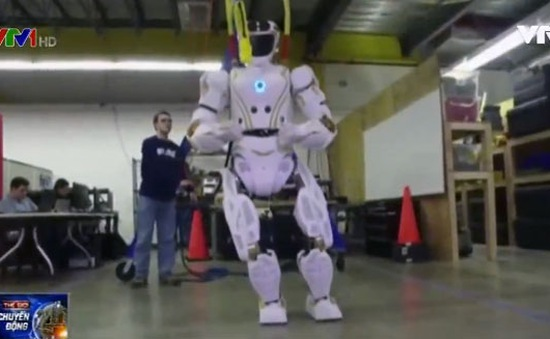 NASA thiết kế robot Valkyrie hoạt động độc lập trên sao Hỏa
