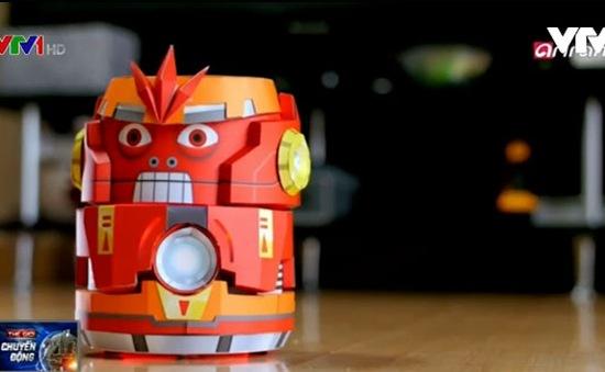 Kamibot - Robot đồ chơi giấy thu hút trẻ em Hàn Quốc
