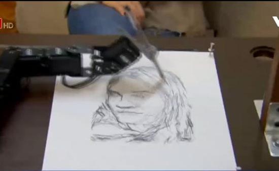 Robot vẽ tranh chân dung đẹp như họa sĩ