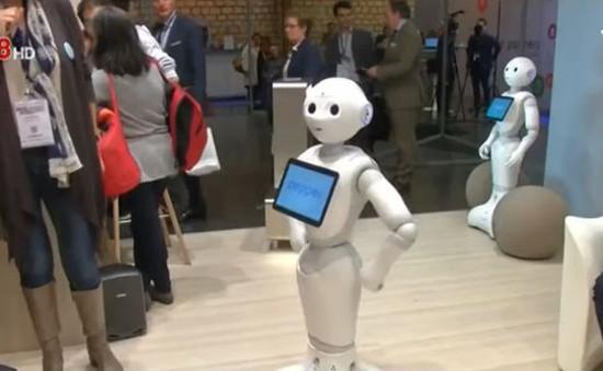 Robot Pepper được đưa vào sử dụng tại châu Âu