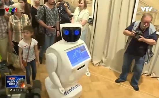 Thử nghiệm hướng dẫn viên robot trong bảo tàng