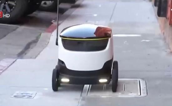 Triển khai robot giao hàng tại châu Âu