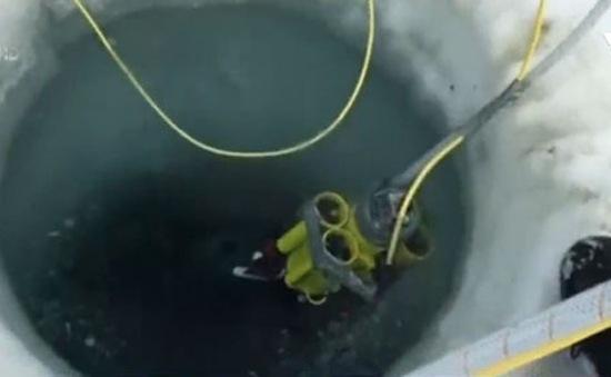 Robot khám phá sự sống phía dưới lớp băng biển Nam Cực
