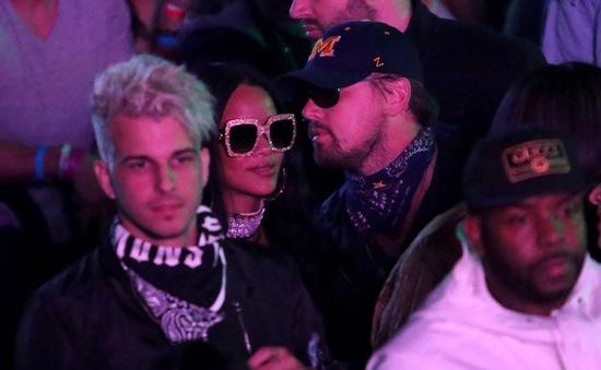 Leonardo DiCaprio và Rihanna bí mật tái ngộ tại Coachella 2016