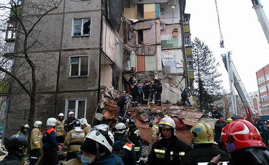 Nổ khí gas gây thương vong lớn ở Nga
