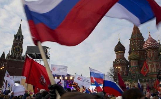 """""""Nga không dùng dự trữ ngoại tệ để hỗ trợ nền kinh tế"""""""