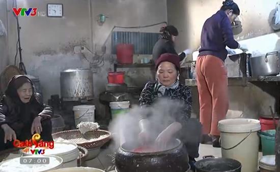 Đậu phụ mơ Hà thành - Món ăn dân dã khó quên