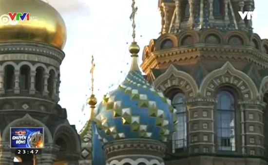 Chiêm ngưỡng vẻ đẹp của thành phố Saint Peterburg