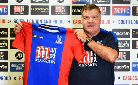 Sam Allardyce chính thức dẫn dắt Crystal Palace