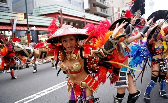 Sôi động lễ hội Samba ở Tokyo, Nhật Bản
