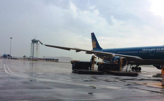Đã sửa xong đường băng bị sét đánh tại Tân Sơn Nhất