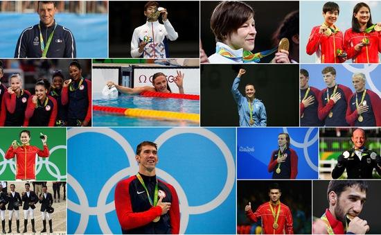 Olympic Rio 2016: Những VĐV giành HCV trong ngày thi đấu thứ 4