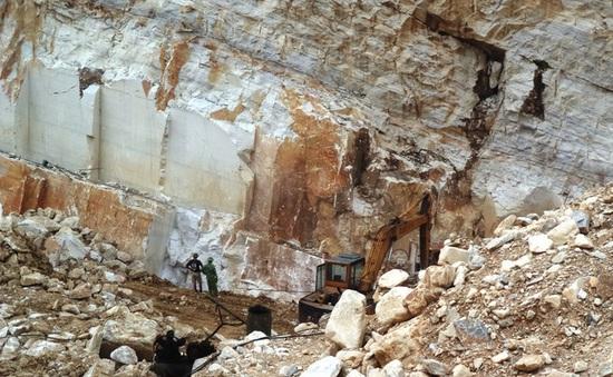 Vụ sập mỏ đá khiến 3 người chết ở Nghệ An: Mỏ đã hết phép thăm dò