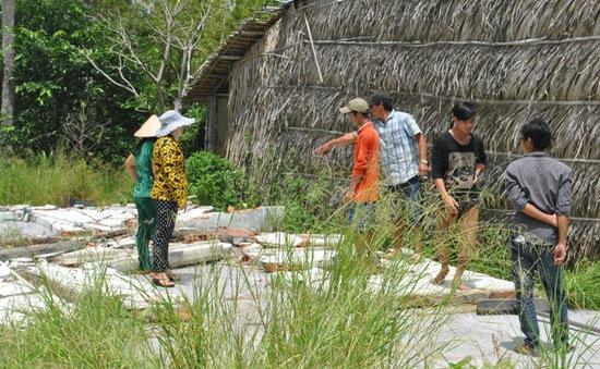 Kiên Giang: Sập tường nhà hoang, 2 học sinh chết thương tâm