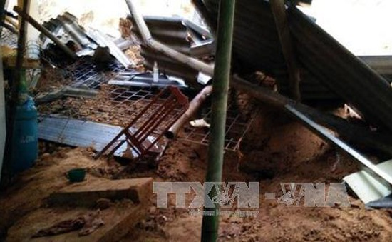 Bắc Kạn: Sạt lở đất tại Chợ Đồn vùi lấp 2 người