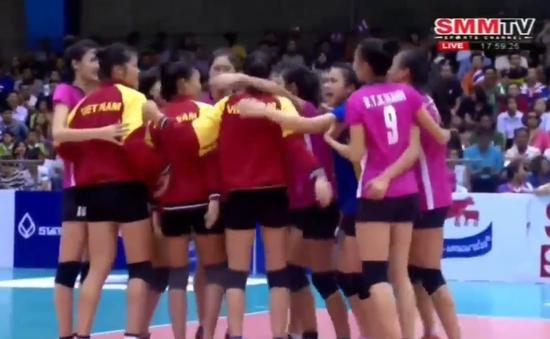 Thắng sốc Hàn Quốc, Việt Nam vào bán kết giải bóng chuyền U19 châu Á