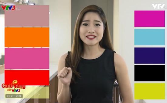 MC Mai Trang tiết lộ bí quyết phối đồ phù hợp 4 màu son